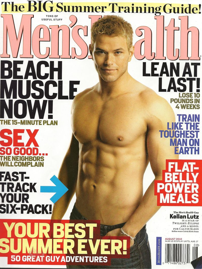 Men's Health Cover 001