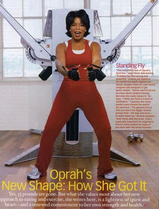 Oprah fit again