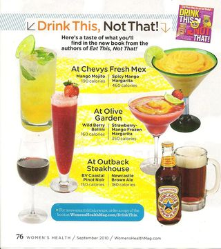 Womens health drink this not that 001