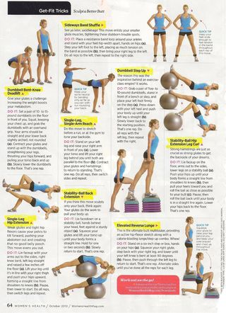 Butt Exercises Womens Health 001
