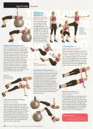 Womens Health Power Pairs 001