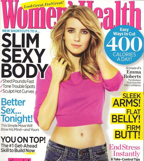 Women's Health April Cover 2 001