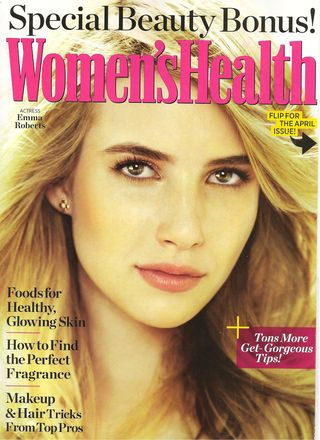 Women's Health Back Cover 001