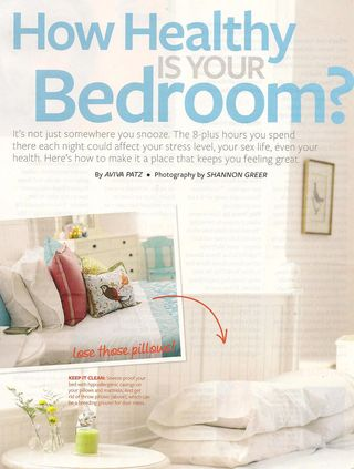 Health Healthy Bedroom 001
