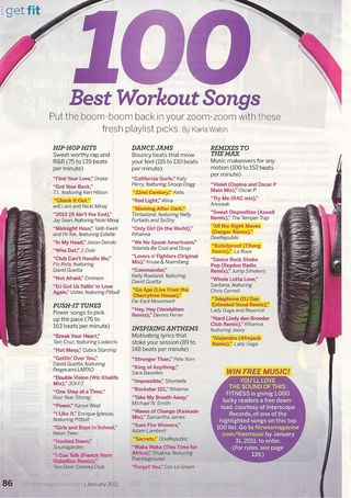 Fitness 100 best songs 001