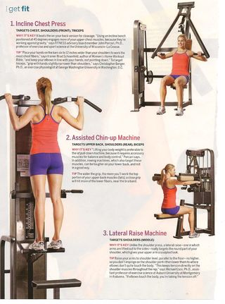 Fitness Chest Press 001