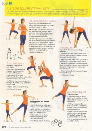 Fitness walking exercises 001