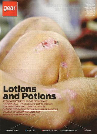 Bicyling Lotions and Potions 001