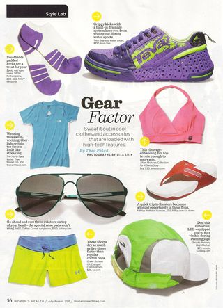 Womens Health Gear 001