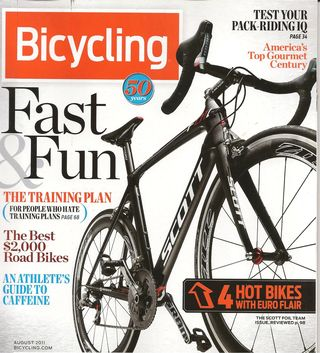 Bicycling Cover 001