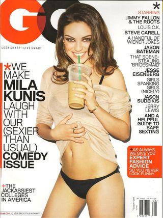 GQ magazine 001