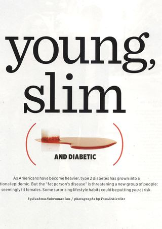 Young Slim Diabetic 001