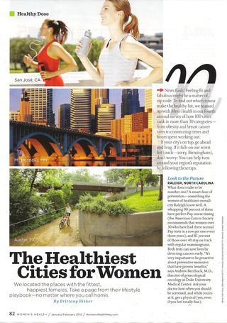 Healthiest Cities 001