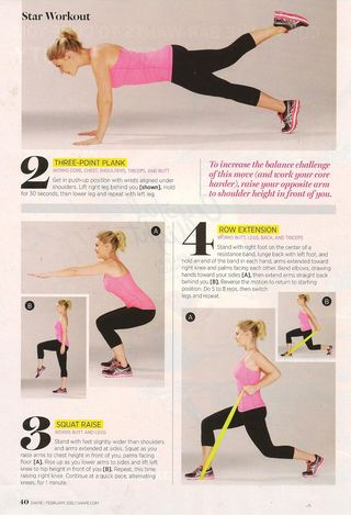 Star Workout 001