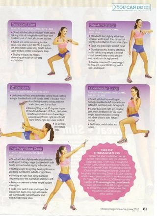 Fitness workout 001