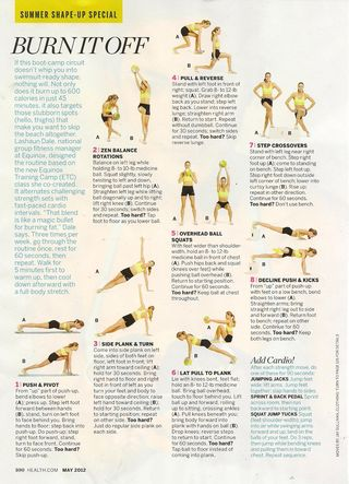 Summer Shape Up Workout 001
