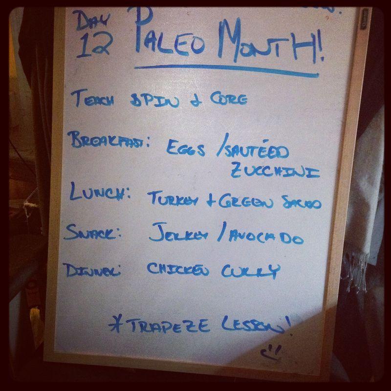 Paleo Day 12