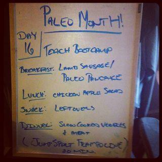 Paleo Day 16