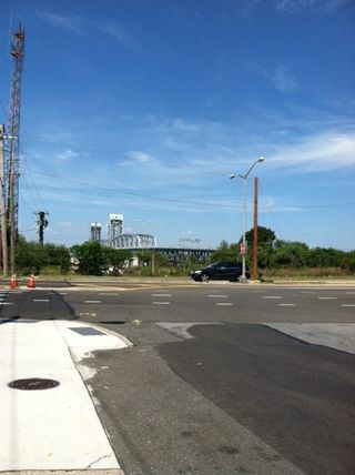 Gil Hodges Bridge from Afar