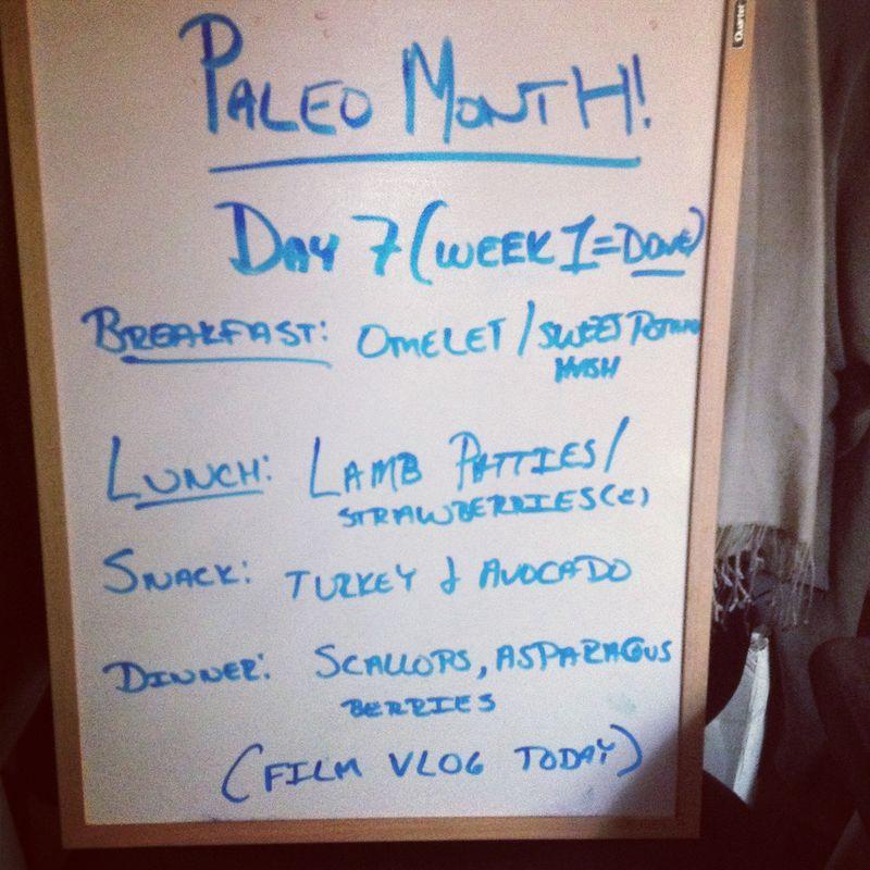 Paleo day 7