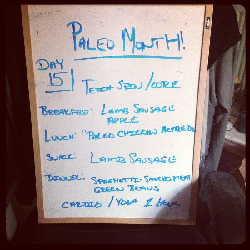 Paleo Day 15