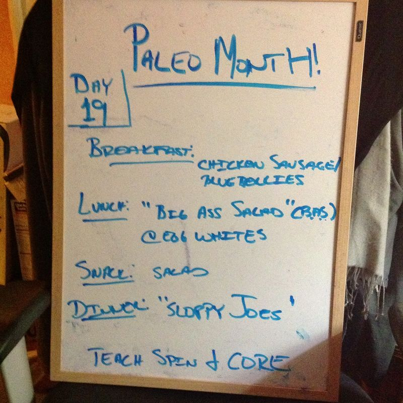 Paleo day 19