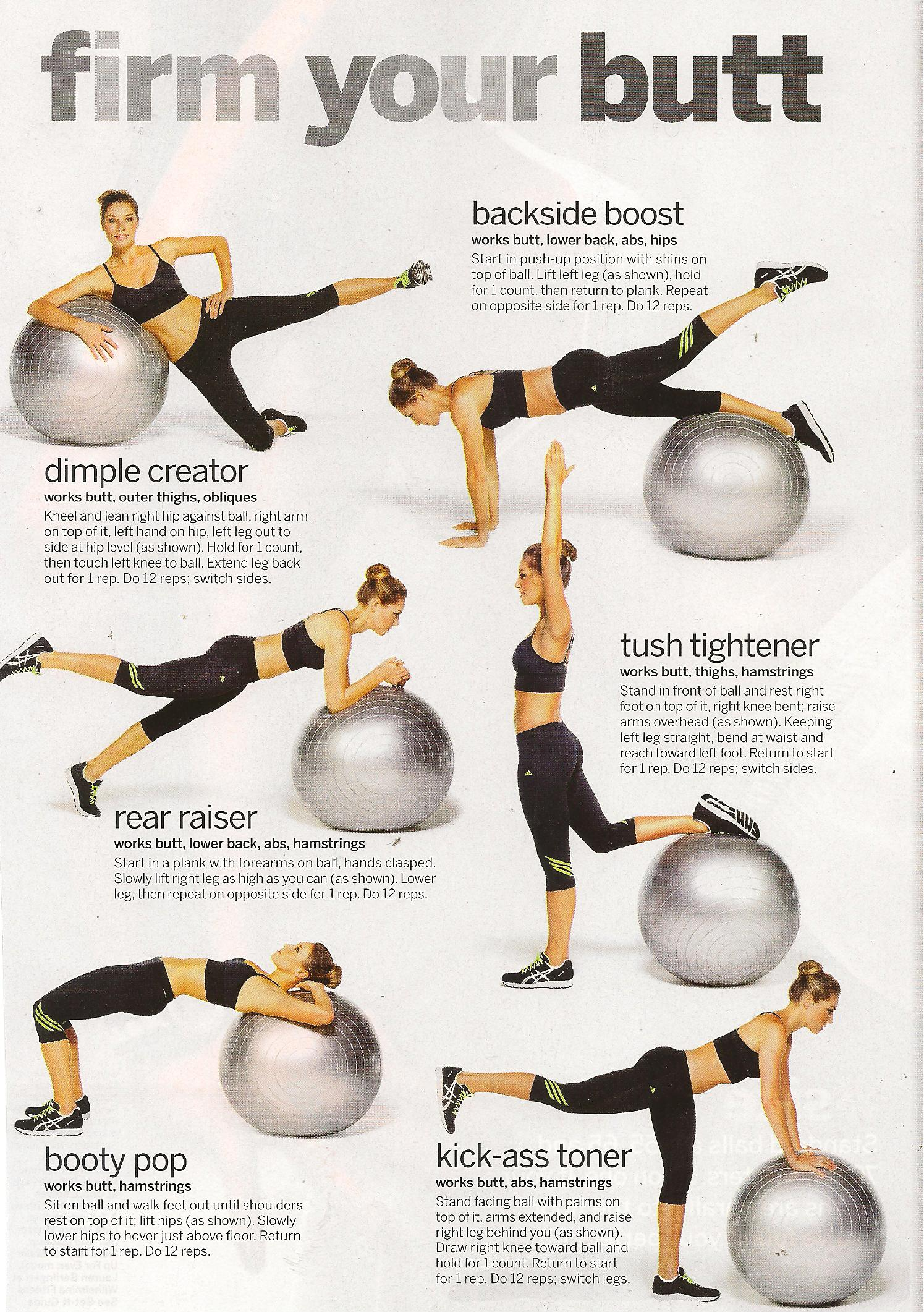 Ility Ball Workouts