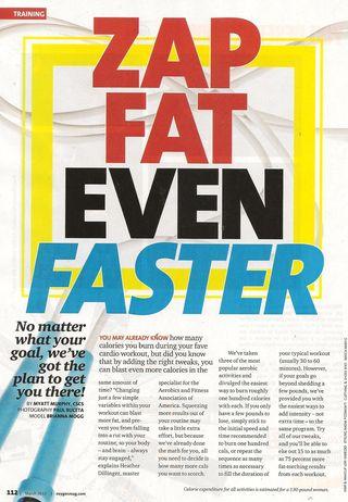 Zap fat faster 001