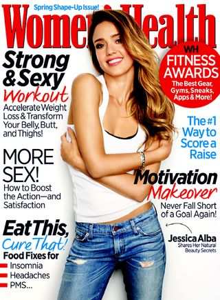 Jessica Alba March Cover
