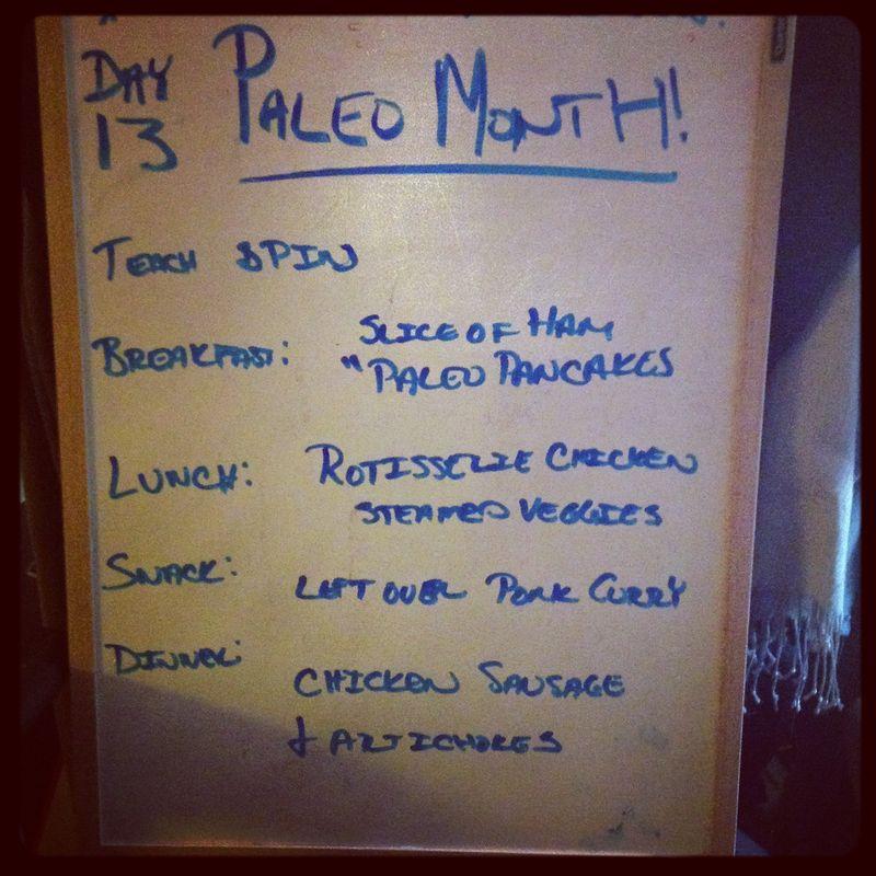 Paleo Day 13
