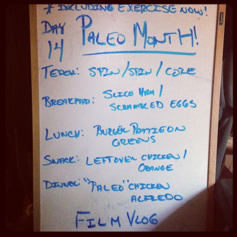 Paleo Day 14