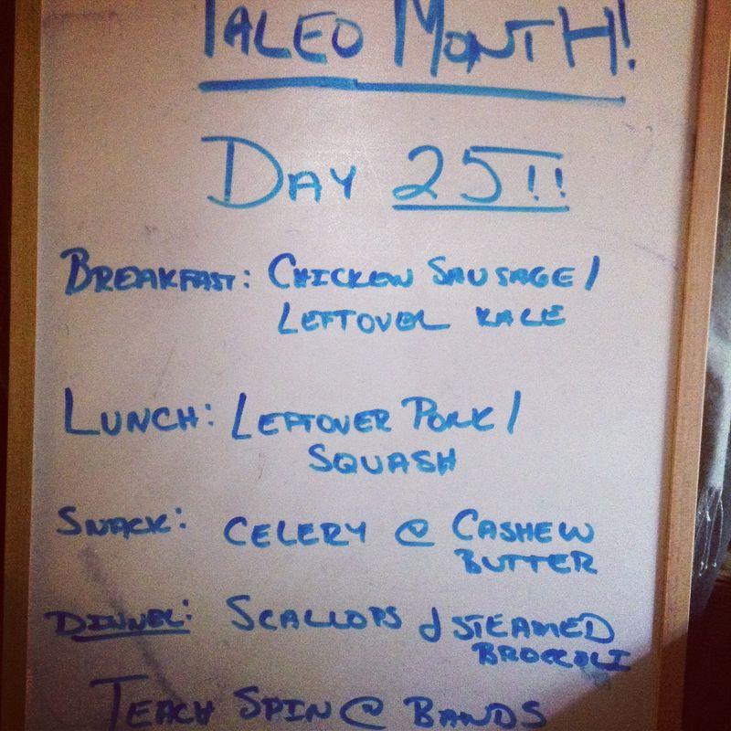 Paleo Day 25
