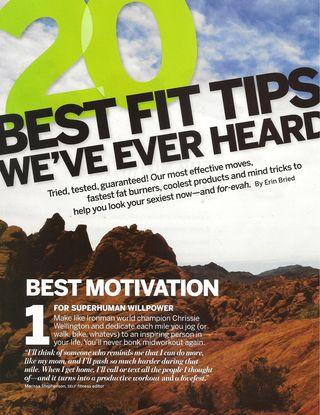 20 Best Fitness tips 001